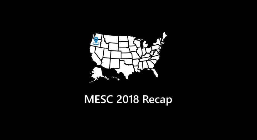 MESC 2018 Recap
