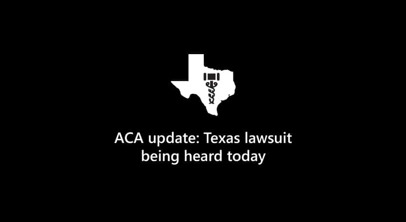 Texas ACA lawsuit to begin blog header
