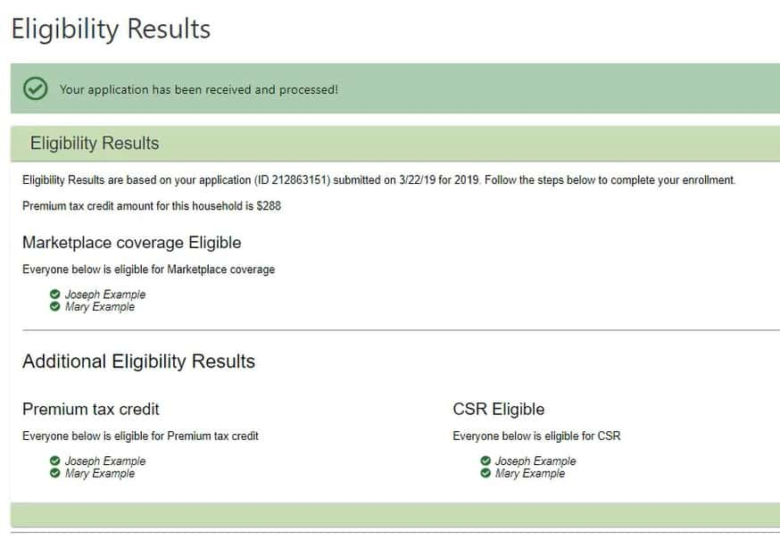 Eligibility & Enrollment screenshot image